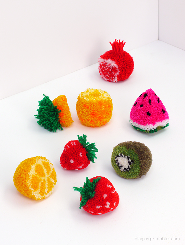 pompom-fruit-tutorial-all