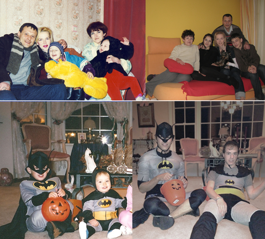 Family Photo Recreations