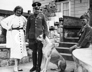 Concentration Camp Commandant and Family