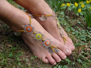 macrame_barefoot_sandals__enamel_flowers_by_noisypixie-d78flj9