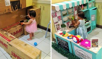 mom-makes-mini-diy-cardboard-kitchen-for-toddler-thumb640