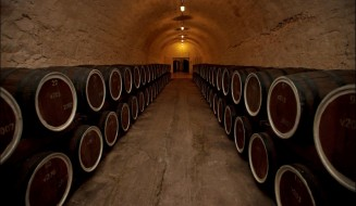 "Wine and Cognac Factory ""Maglev"", Alushta, Crimea, March 1, 2012"